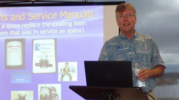 Jeff Merrill presenting