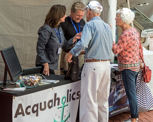 Acquaholics Booth TrawlerFest Baltimore