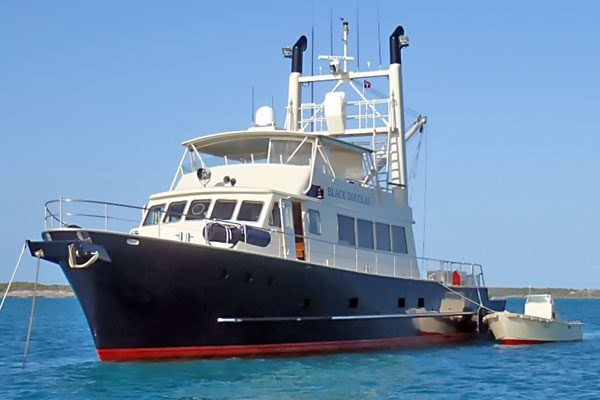 Black Douglas Twin Stack Trawler - Purchasing a Trawler with Jeff Merrill
