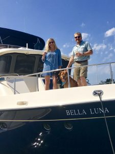 Rob and Deanna on Bella Luna