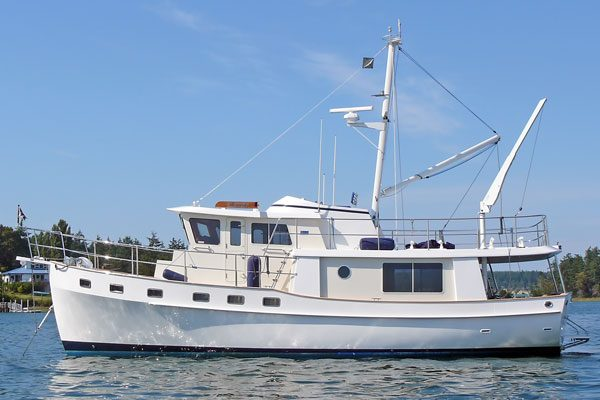 Kadey-Krogen 48 Fishermans Bay Lopez Island San-Juan's - Building Your Trawler Buying Team