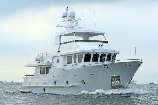 Bering 65 Dantonio Steel Built Trawler