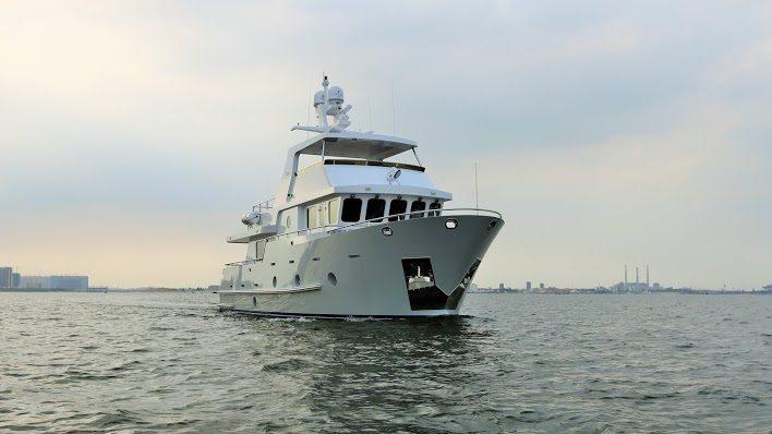 Bering 65 Serge Steel Trawler