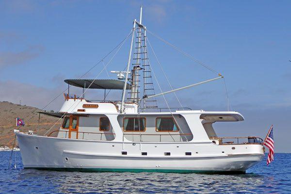 Galatea Catalina Yacht