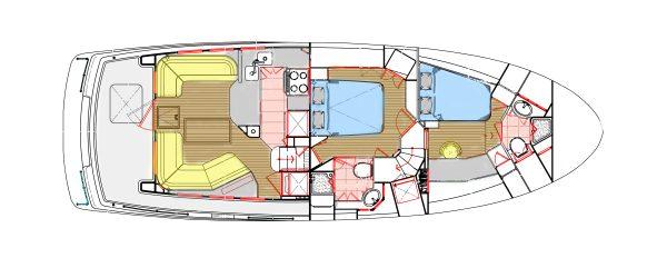 Nordhavn 47 - Navigator Main Deck