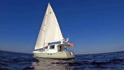 Nordhavn 56 Motorsailer NordSail One Trawler