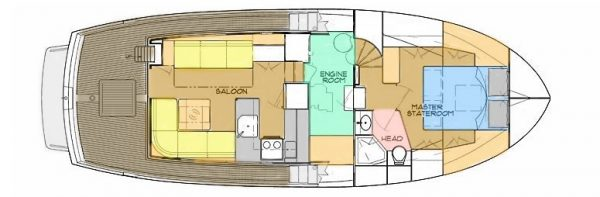 Kadey-Krogen 39 - main deck