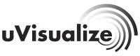 uVisualize logo