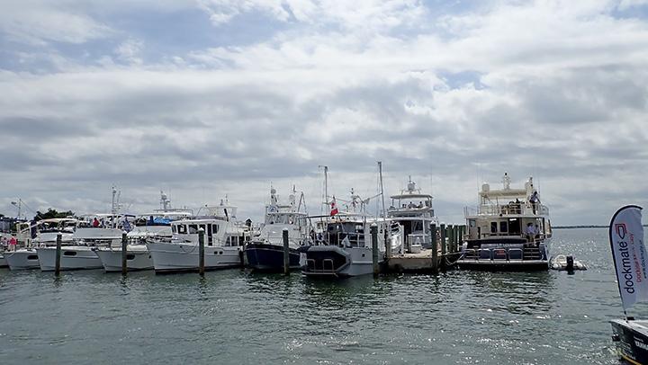 Stuart Florida Boat Show Marina