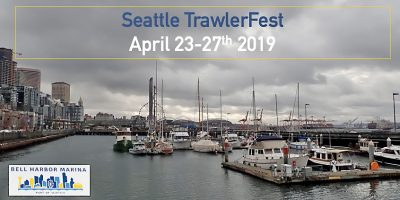 Seattle TrawlerFest Marina 2019