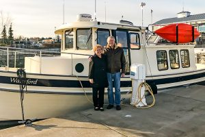 Eric and Paula Youngstrom - Nordic Tug 32