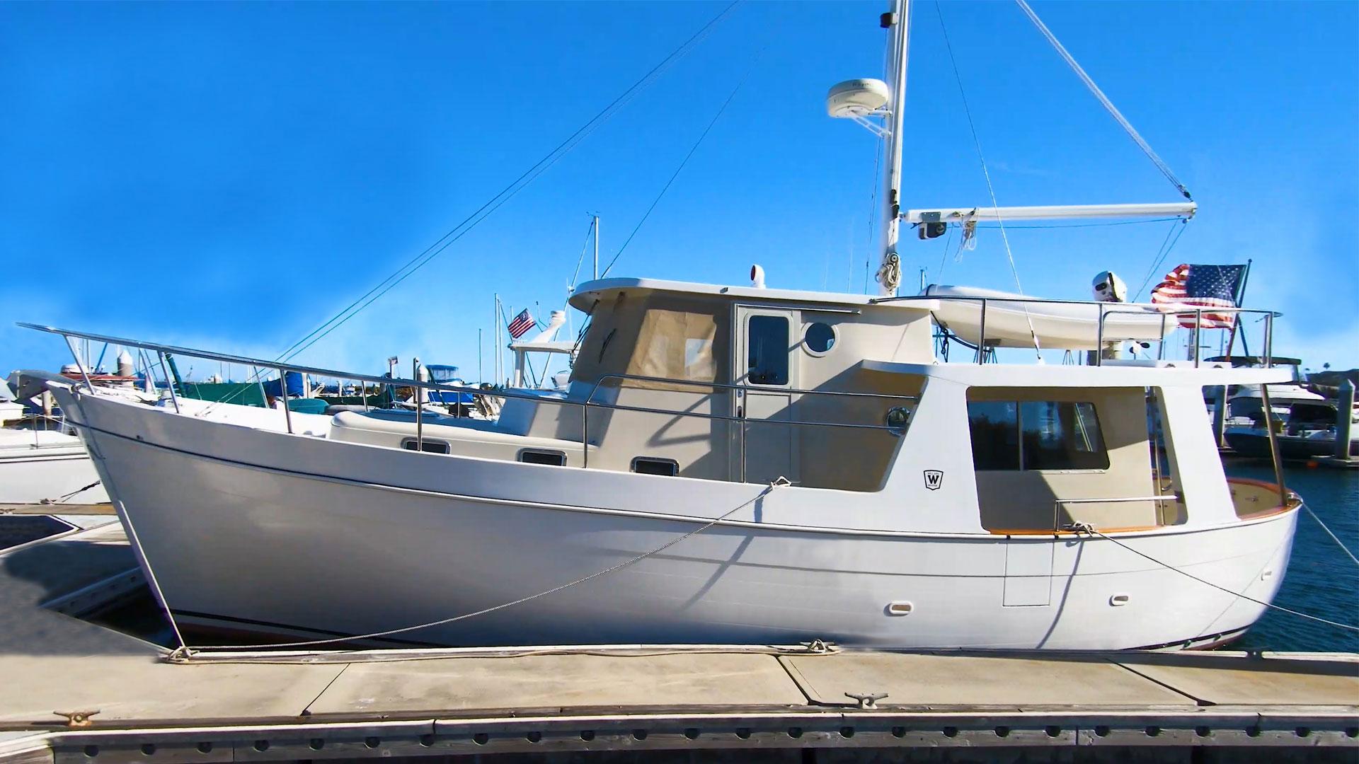 Willard 40 Aloha JMYS Trawler Listing