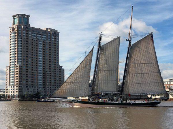 Baltimore boat show trawler