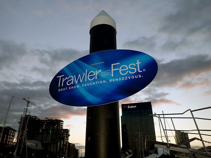 Baltimore Trawlerfest 2019 Marina