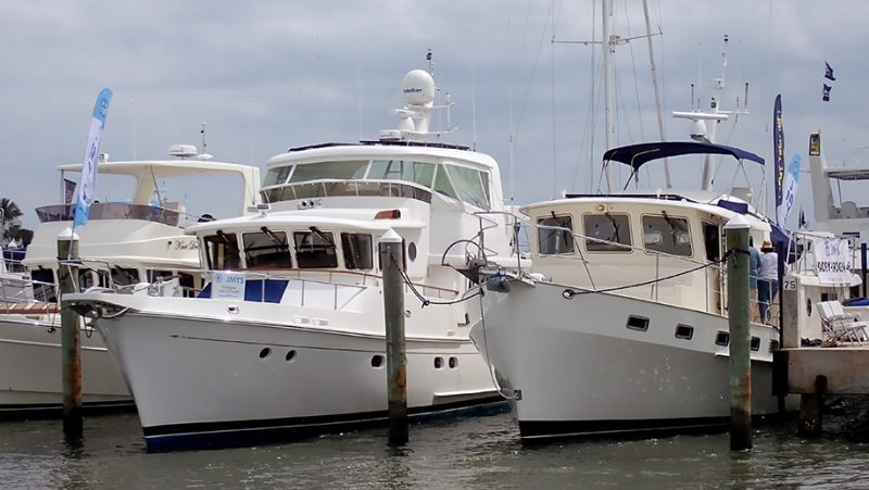 Spyhop II and Klassy Kady docked at TrawlerFest.