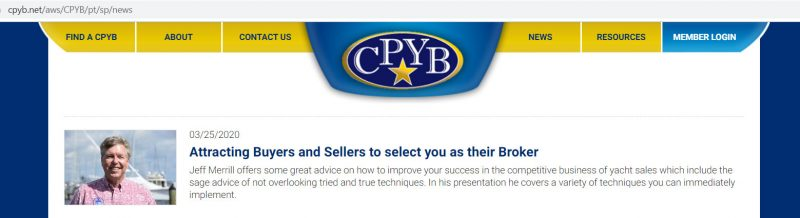 Attracting buyers and sellers to select you as their broker
