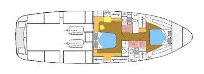 Seahorse 52 - Keokuk Lower Deck