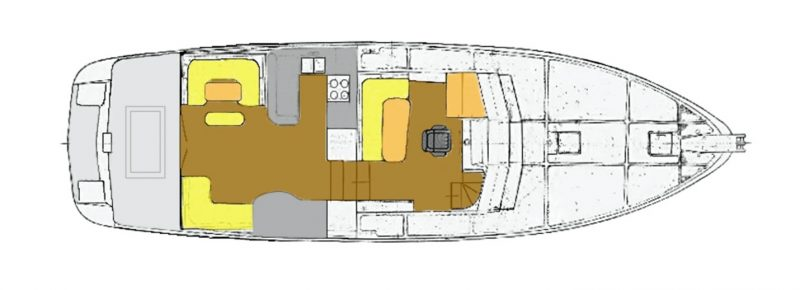 LAYOUT: Saloon, Galley, and Pilothouse