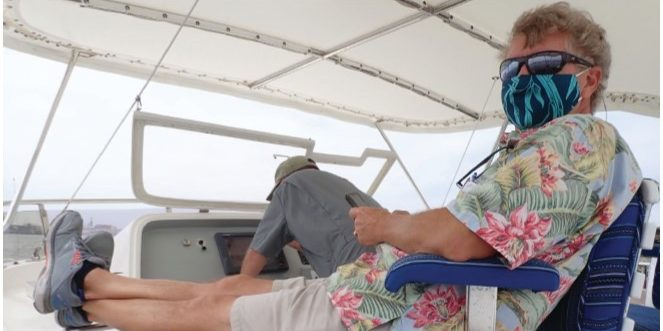 Jeff in Pilothouse