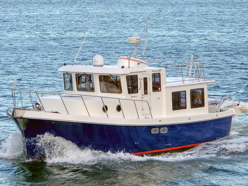 picture of a trawler