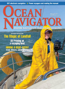 Ocean Navigator - cover picture - Read the Factory Manual
