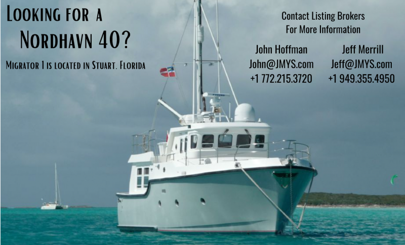 Looking for a Nordhavn 40?