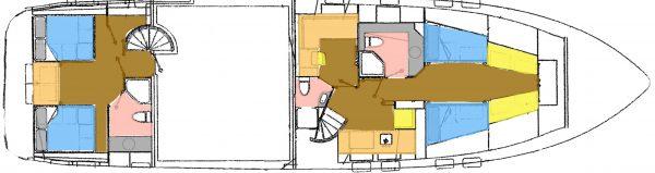Snowbird-73-True-Love-JMYS-Trawler-Listing-Lower-Deck